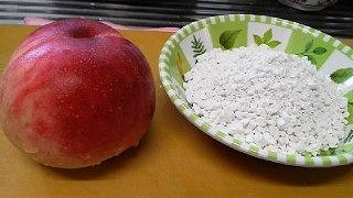 桃の白玉だんご