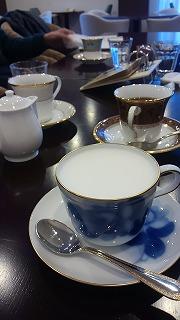 お正月にカフェへ