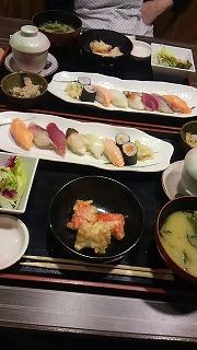 板前さんの握り寿司