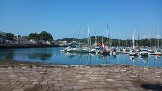 日本一島が多い場所で、ある晴れた朝