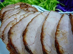 豚肉のマーマレード焼き