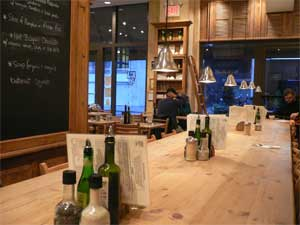 le pain quotidionの店内