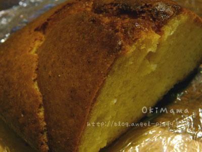 パウンドケーキ。