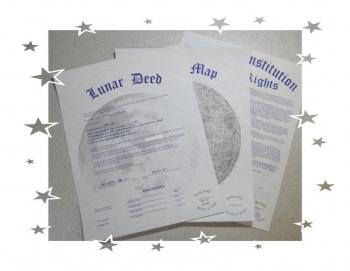 Ouna の月の土地権利書