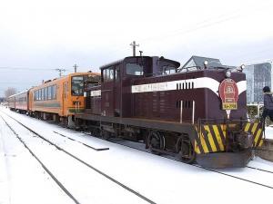 ストーブ列車の機関車