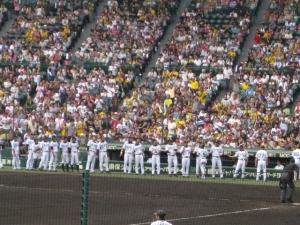 平野選手ホームラン