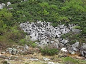 モレーン(堆石)
