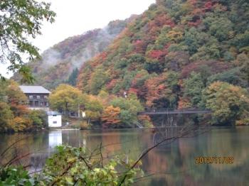 大源太湖,希望大橋が見える