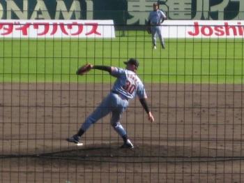 投手江川氏
