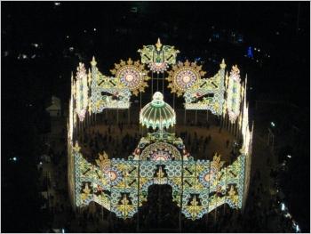 ルミナリエ,スパッリエーラ