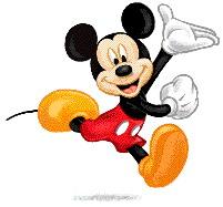 クリップアートのミッキーマウス