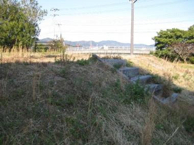 神戸の壁が立っていた跡地