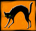 黒猫 クリップアート