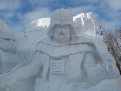 大雪像 雪のスター・ウォーズ,ダース・ベイダー