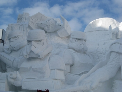 大雪像 雪のスター・ウォーズ,ストーム・トルーパー