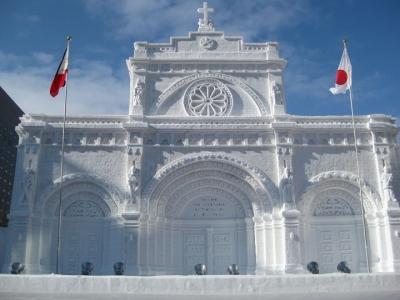 マニラ大聖堂 大雪像
