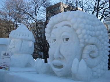 雪像 大泉 羊 大泉 洋