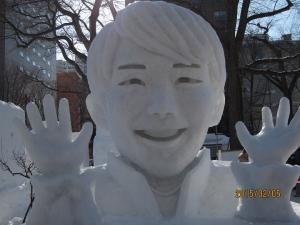 雪像 羽生結弦