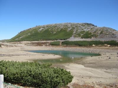 鶴ヶ池と大黒岳