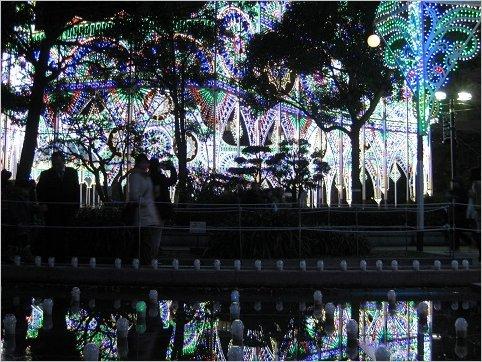 ルミナリエ,不思議・幻想的な風景 1