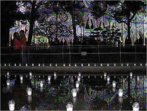 ルミナリエ,不思議・幻想的な風景 3
