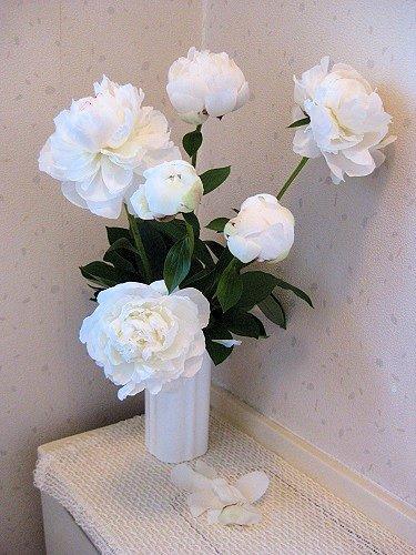 芍薬 生け花 満開