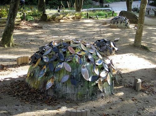 陶器の紫陽花 1