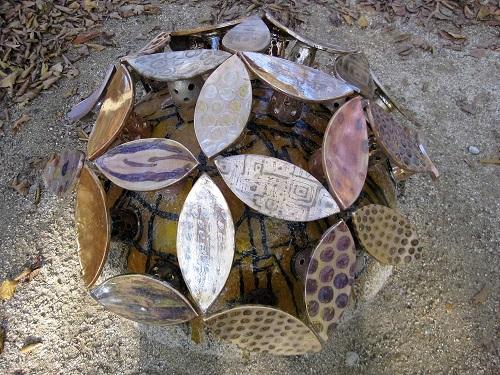陶器の紫陽花 2