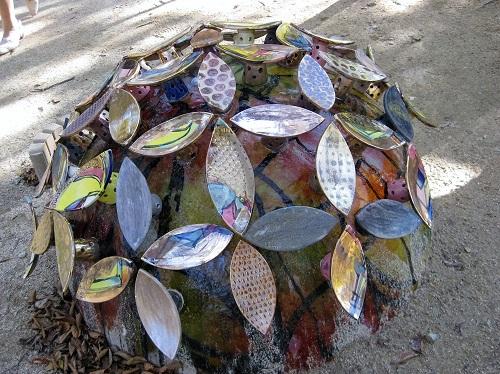 陶器の紫陽花 3