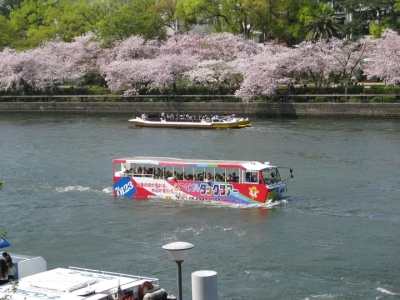 水陸両用観光バス 1