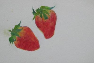 イチゴのスケッチ 4