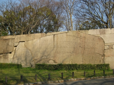 大阪城の巨石