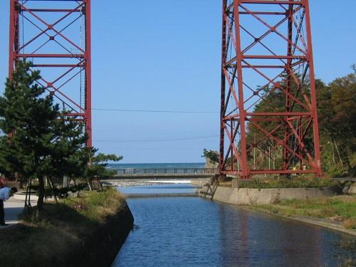 余部鉄橋の橋脚