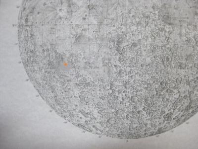 月の土地 区域図