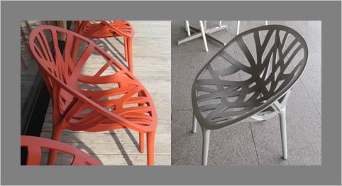 カンパーナ六花亭の椅子