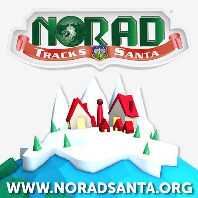 NORAD TRACKS SANTAのロゴ