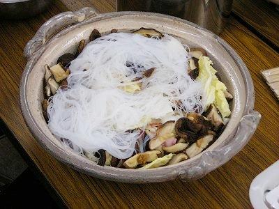 シイタケメインのあっさりウマウマ鍋