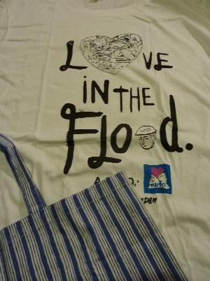 タイ洪水被害支援Tシャツ