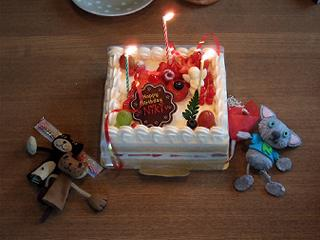 ニキティ、お誕生月。