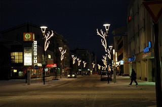 いろんな街灯がある。