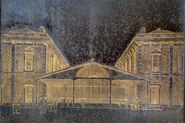 初代の横浜駅の様子