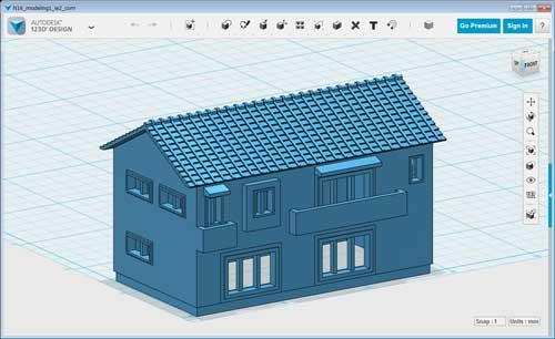 3Dの住宅