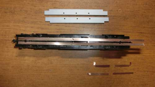 旧モデル分解とりん青銅板
