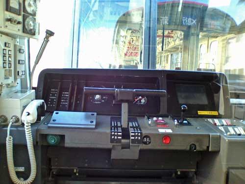京急655形式の運転台