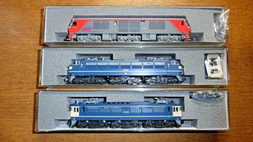 復活した機関車