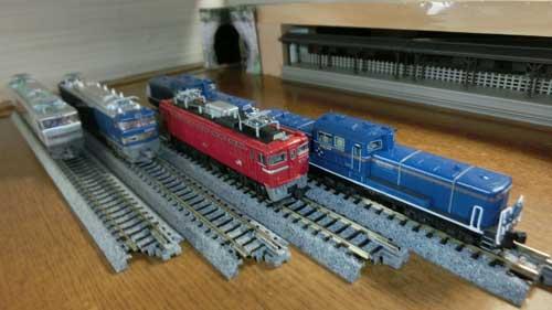牽引した各機関車