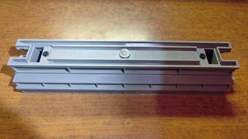 単線高架直線線路124mm