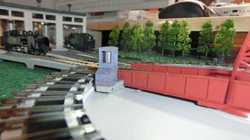 操作室の改造
