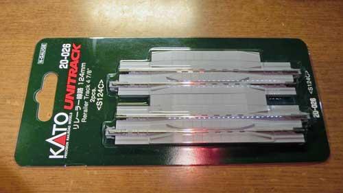 リレーラー線路124mm(20-026)