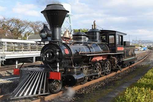 鉄道博物館の義経号